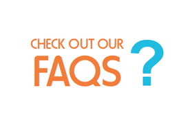 Check out our FAQ's